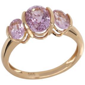 Ring 585 Gelbgold, Kunzit