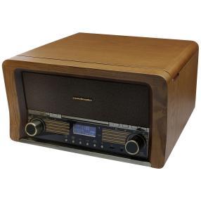 Nostalgie Stereo-Musikcenter mit Bluetooth