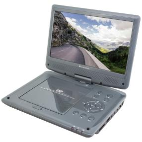 Tragbarer DVD-Player mit DVB-T2 HD-Tuner