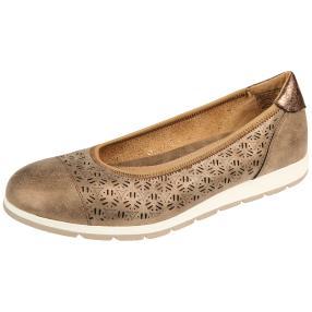 Relife® Damen Slipper, bronze