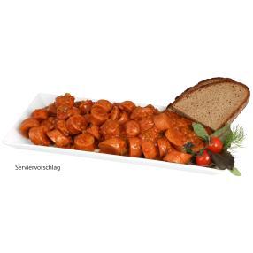 Rustikale Currywurst mild