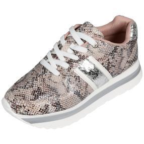 MONSHOE Damen Plateau-Sneaker