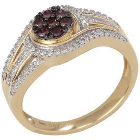 Ring 585 Gelbgold Brillanten Diamanten