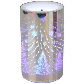 LED-Kerze Infinity Tannenbaum