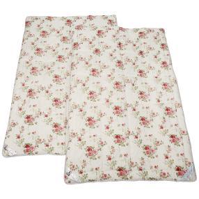 Stoffhanse Duo-Decke 2x 135x200cm floral