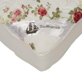 Stoffhanse Unterbett 2x 100x200cm floral
