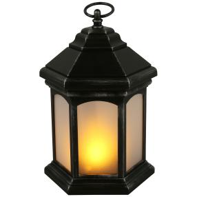 LED-Outdoorlaterne schwarz