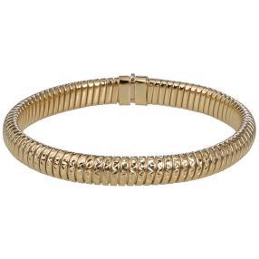 Armband 585 Gelbgold mit Diamantschnitt, ca. 20g