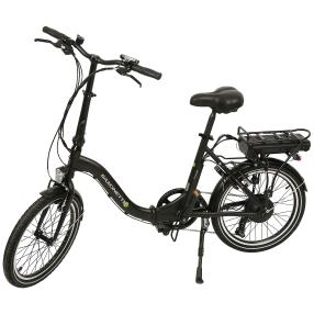 Saxonette E-Bike Compact schwarz