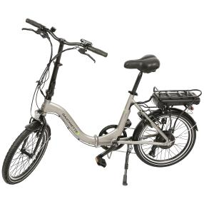 Saxonette E-Bike Compact silber
