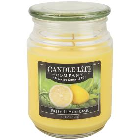 CANDLE-LITE Duftkerze Fresh Lemon Basil