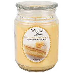 Willow Lane Duftkerze Lemon Cake & Vanilla