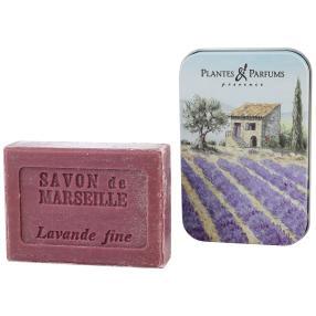 Lavendelseife in Metallgeschenkbox 100 g