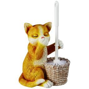 WC-Bürsten-Garnitur Katze