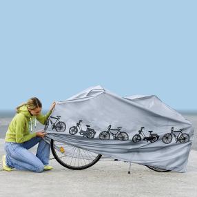 Fahrrad- und Mopedhaube