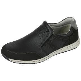 Relife® Herren Slipper, grau, schwarz