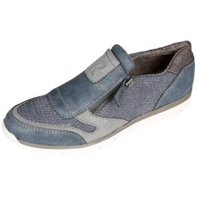 Relife® Damen Slipper, grau, jeansblau, pewter