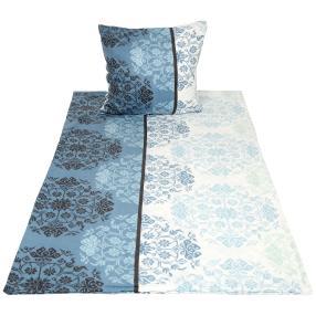 WinterDreams Bettwäsche 2-teilig, blau-weiß