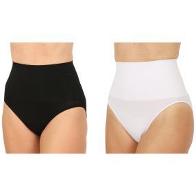 2er Pack Damen-Form-Slip schwarz & weiß