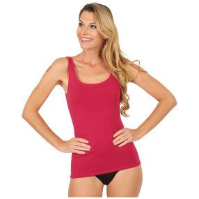 Damen-Baumwoll-Trägerhemd rot