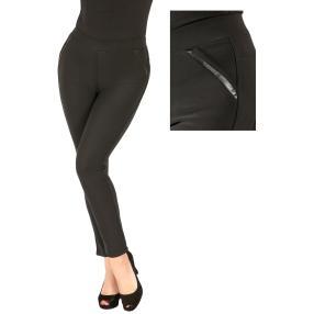 Damen-Hose 'Bamboo Super Fit'  schwarz