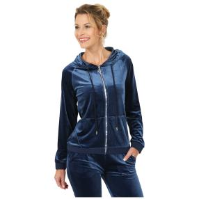 FASHION NEWS Kapuzenjacke 'Relaxed' blau