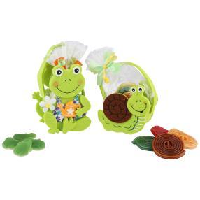 Schnecke und Frosch Täschchen