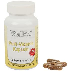 ViaBia Multi-Vitamin Kapseln 75 Stück