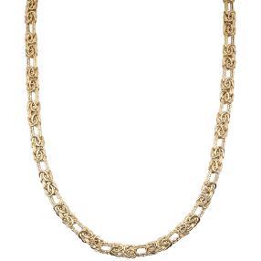 """Königskette """"Byzanz"""" 585 Gelbgold, ca. 50 cm"""