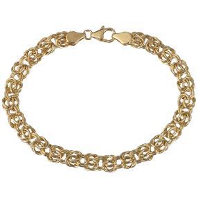 """Königsketten-Armband """"Byzanz"""" 585 Gelbgold"""