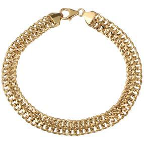Sadusa-Armband 585 Gelbgold
