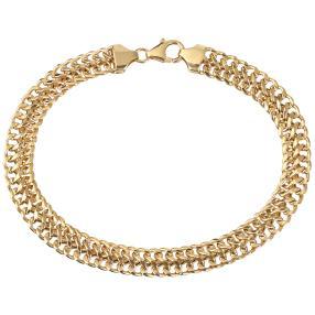 Sadusa-Armband 585 Gelbgold ca. 20cm