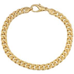 Panzerarmband 585 Gold 4fach diamant. ca. 20,4g