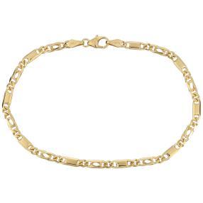 "Armband ""Tigerauge"" 585 Gelbgold"