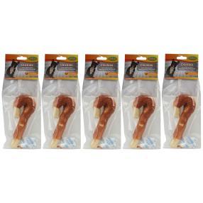 5er-Set Chickies-Regenschirm aus Rinderhaut