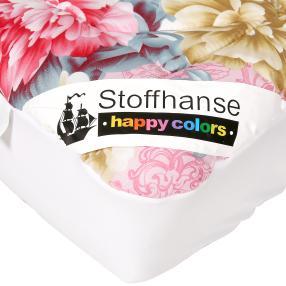 Stoffhanse Unterbett 100x200cm floral