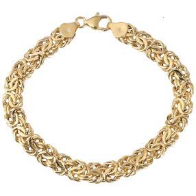 "Königsketten-Armband ""Byzanz"" 585 Gold, ca. 20,5cm"