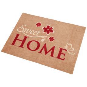 Türmatte Sweet Home beige 50x70 cm