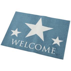 Türmatte blau, Stern + Welcome