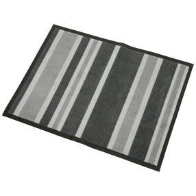 Türmatte Streifen grau 50x70 cm