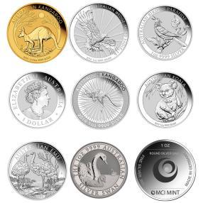 Australien 2019Set Gold/Silber