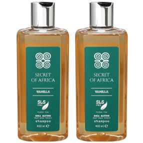 SECRET OF AFRICA Shampoo Duo 2x 400 ml
