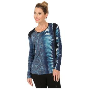MILANO Design Shirt 'Muggia' blau/multicolor