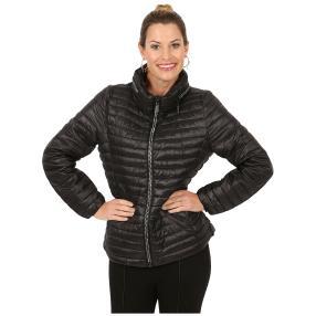 Damen-Jacke 'Marina' mit Strass-Zipper schwarz