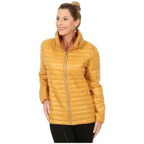 Damen-Jacke 'Marina' mit Strass-Zipper gelb