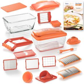 Genius Nicer Dicer Chef S Deluxe 20-tlg.