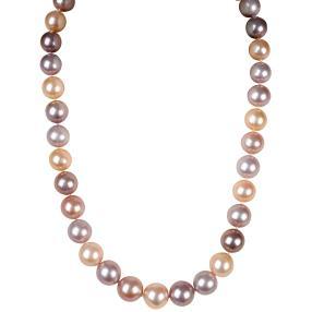 Perlen-Collier Edison 925 Sterling Silber natur