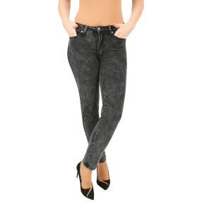 Jet-Line Damen-Jeans 'Tuscon' grey moon wash