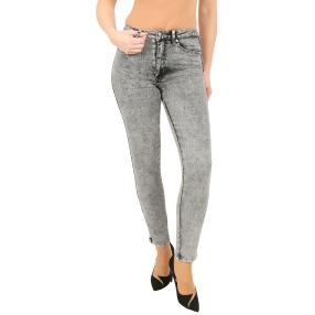 Jet-Line Damen-Jeans 'Winslow' grey wash