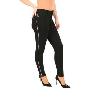 Jet-Line Damen-Jeans 'Tempe' deep black